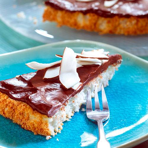 Zum Rezept: Schoko-Kokos-Tarte