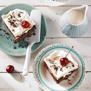 Kirschkuchen: Espresso-Kirschtorte