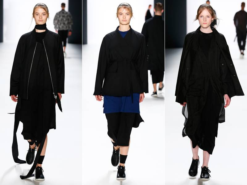 Odeur Herbst/Winter 2016: Sporty Gothic