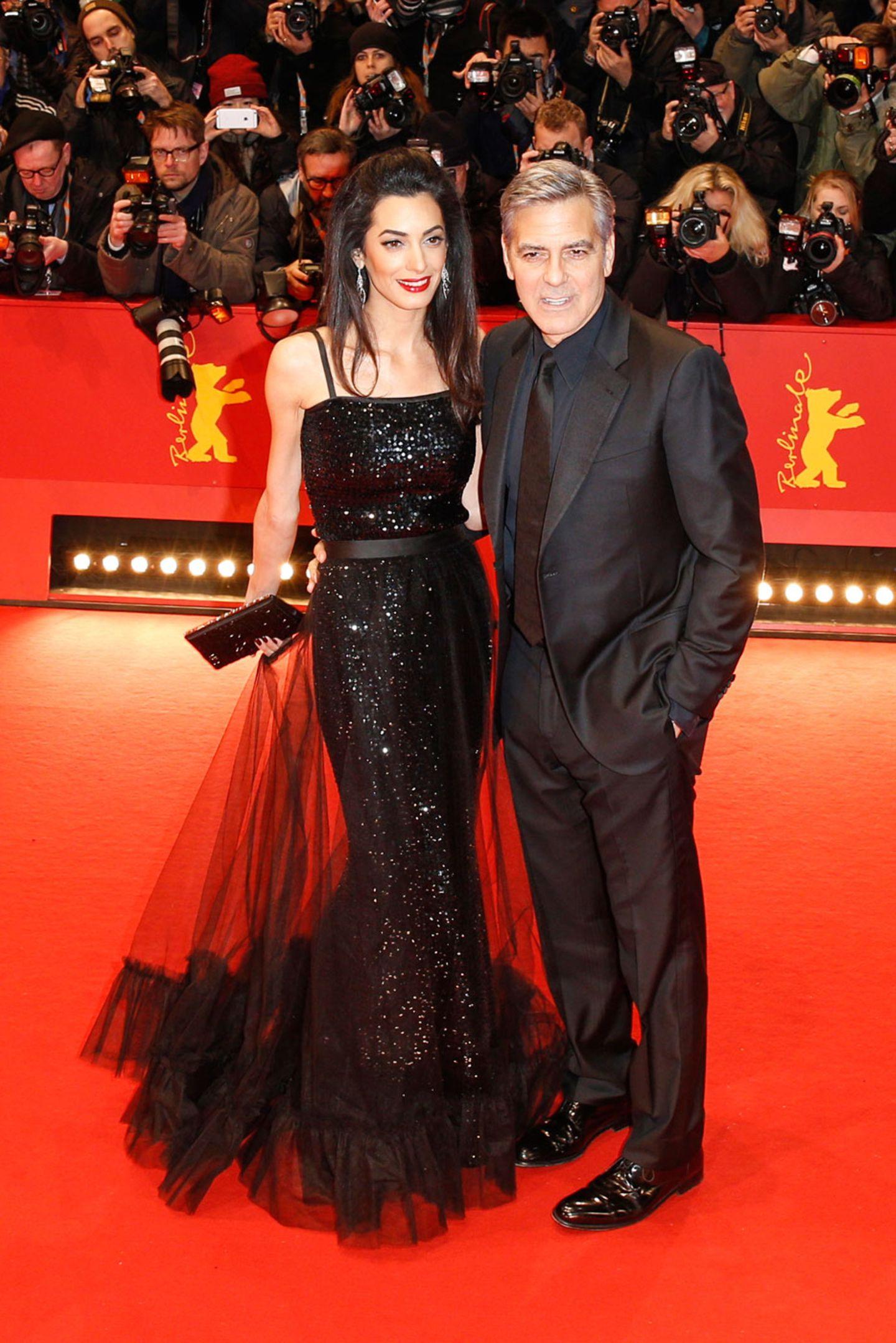 Berlinale 2016: Amal und George Clooney