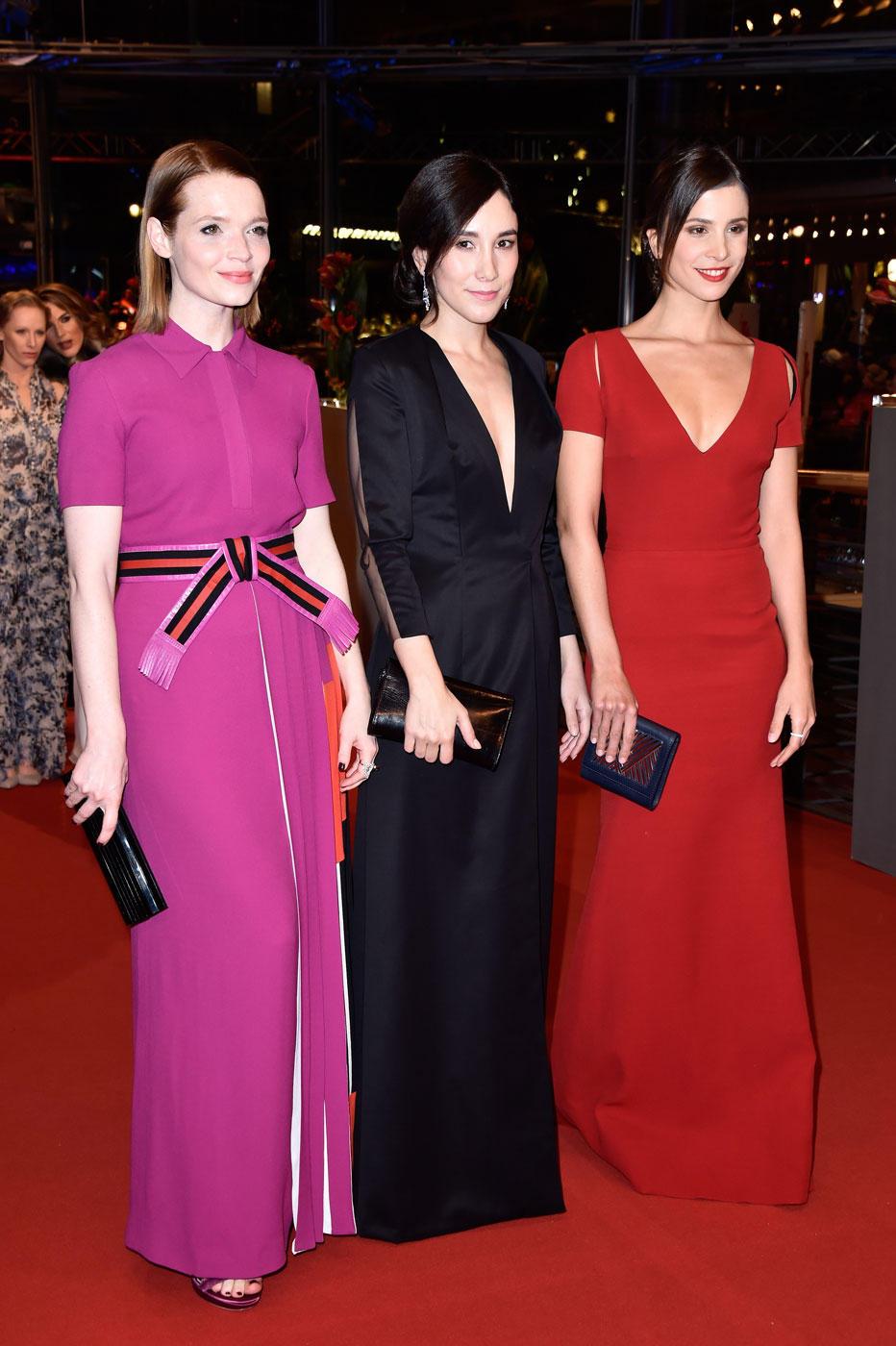 Berlinale 2016: Karoline Herfurth, Sibel Kekilli und Aylin Tezel