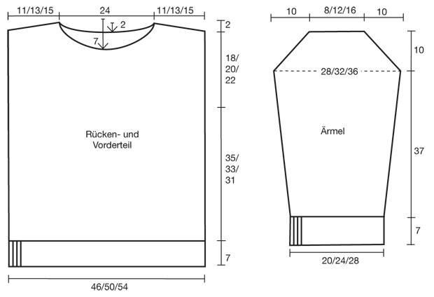 Strickmuster: Pullover mit Zopfmuster stricken