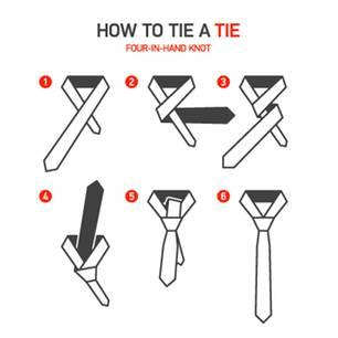 Krawatte binden: So gelingt der Schlips
