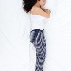 Schlafpositionen: Seitenschläfer