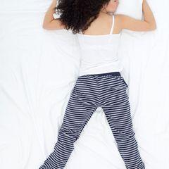 Schlafpositionen: Bauchschläfer