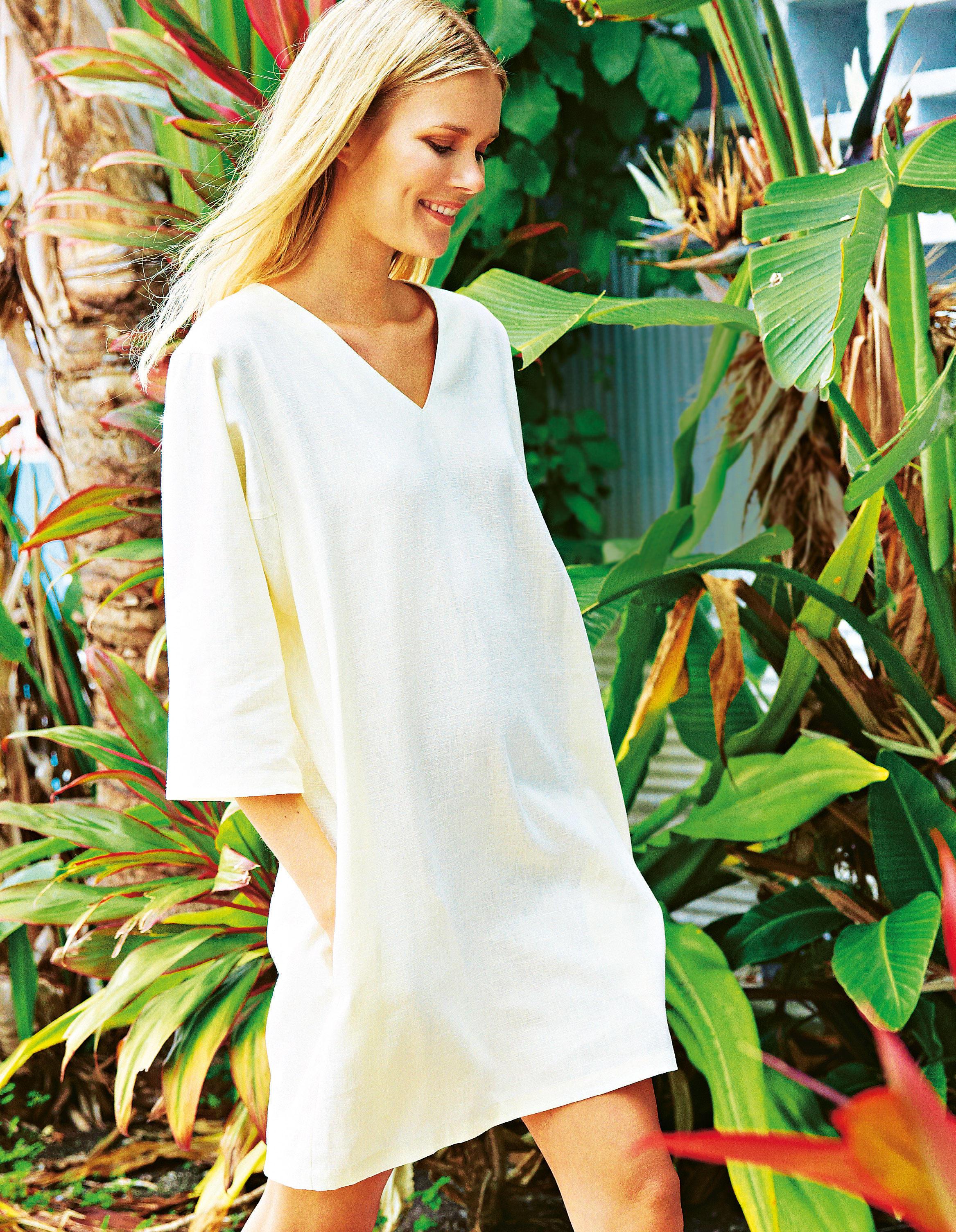 Selbermachen: Sommerkleider nähen - acht luftige Modelle   BRIGITTE.de