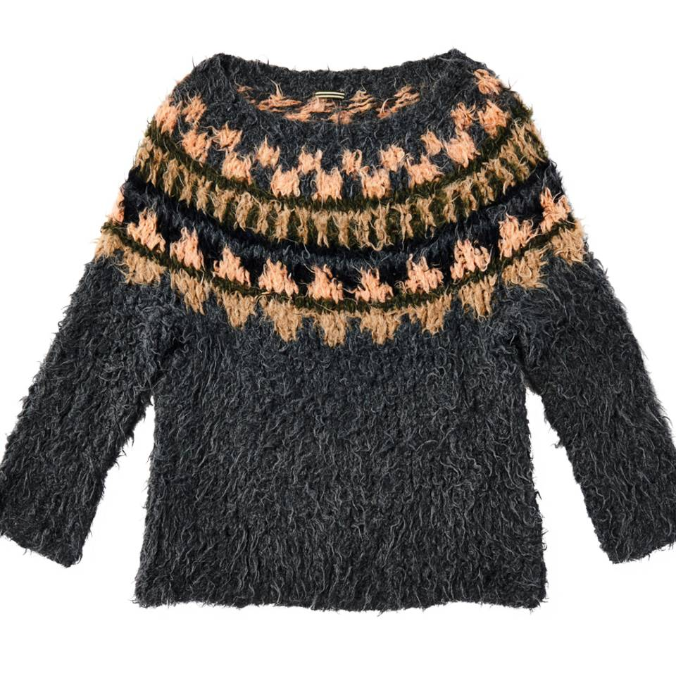 Pulli im Norwegermuster stricken