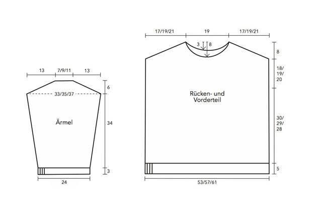 4cabb3fe03224e Strickmuster: Schlichten Pullover stricken | BRIGITTE.de