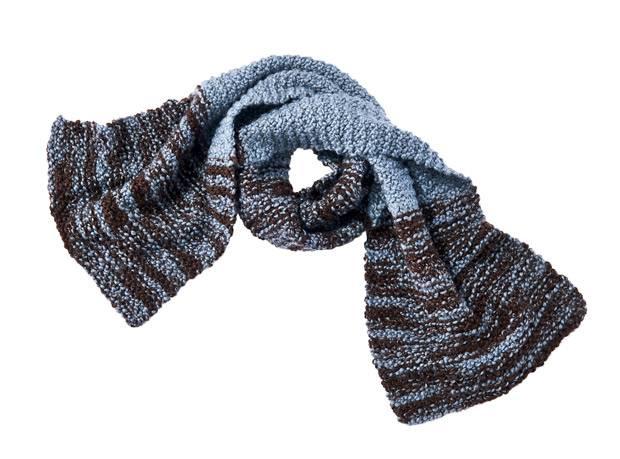 Strickmuster: Melierten Schal stricken | BRIGITTE.de