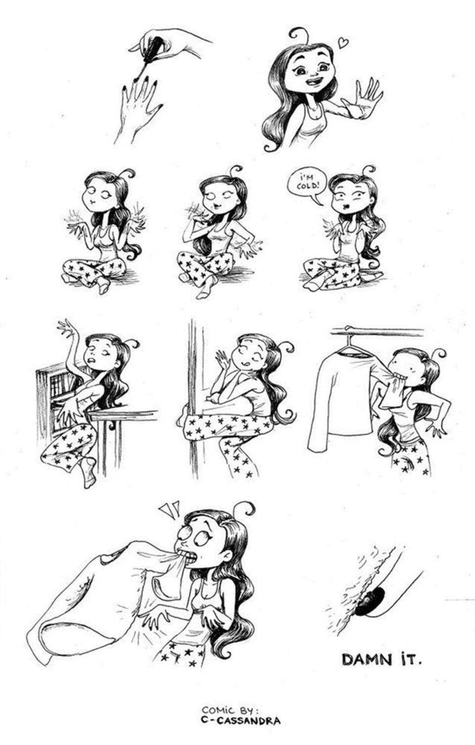 Diese Cartoons zeigen den Alltags-Wahnsinn, den jede Frau kennt