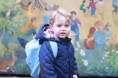 Zuckersüß: Prinz George tritt an zur Royal Vorschule