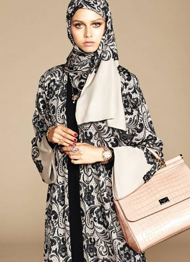 Luxus-Kopftücher: Dolce & Gabbana entwirft eine Kollektion für muslimische Frauen