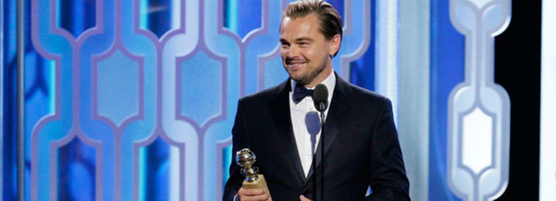 Leonardo DiCaprio flirtet mit Lady Gagas Hintern