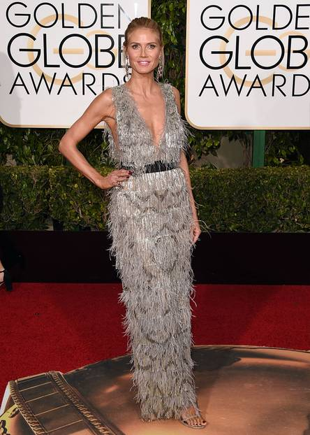 Golden Globes 2016: Heidi Klum