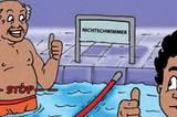 """""""Nichtschwimmer müssen im Nichtschwimmer-Bereich bleiben"""""""
