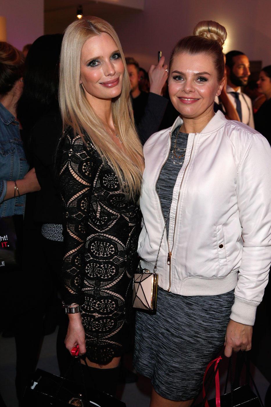 Modespezialistinnen Mirja du Mont und Anne-Sophie Briest sind Stammgäste auf jeder Fashion Week.