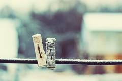 Darum solltest du deine Wäsche bei Frost aufhängen