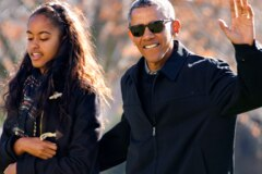 Warum Barack Obama beim Schulabschluss seiner Tochter keine Rede halten will
