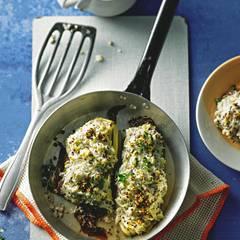 Gratinierter Chicorée mit Quinoa
