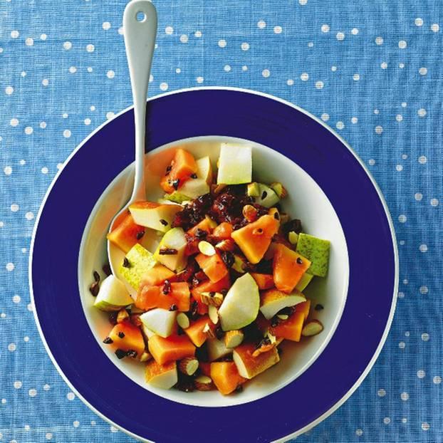 Mandeln, Schoko, Früchte - Vitaminkick mit Biss.