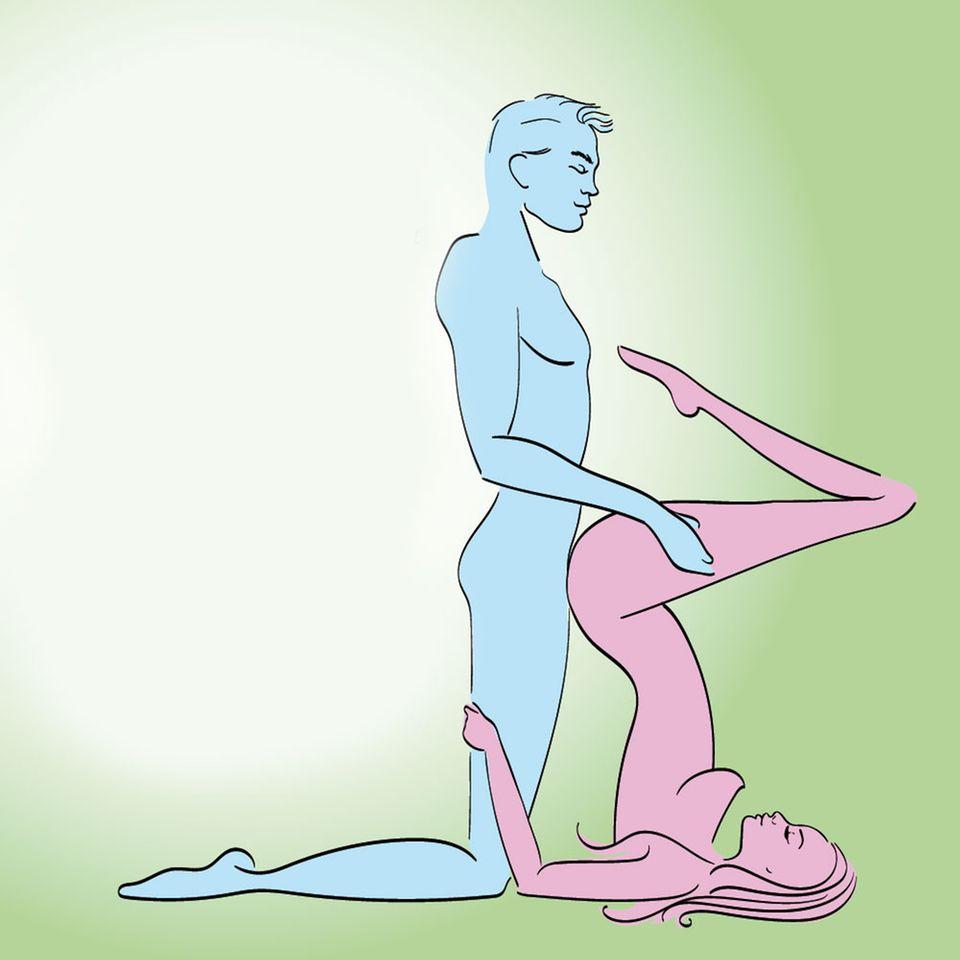 Ausprobieren Verschiedene Sexstellungen 150+ Wer