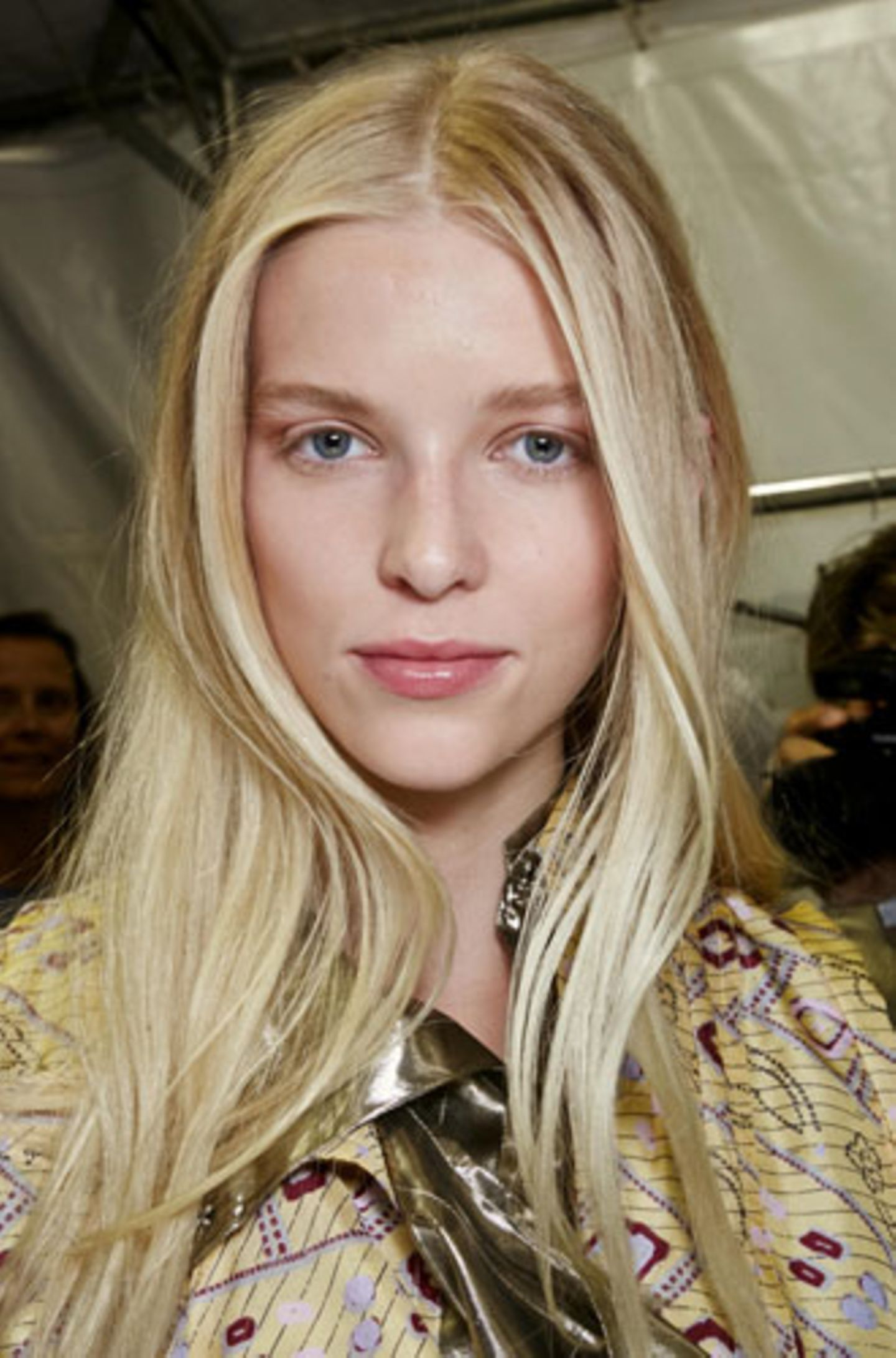 Sexy Frisur, weil: lang, blond – geht immer.