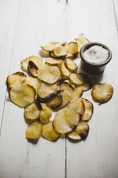 Knusprige Maniok-Chips