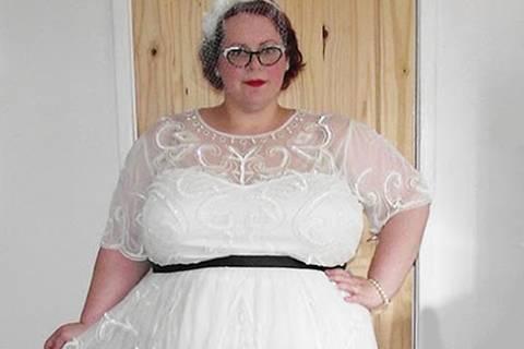 Diese Frau fordert: Macht endlich schöne Hochzeitsmode für Kurvige!