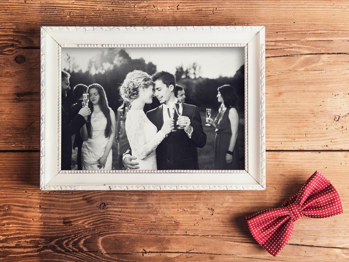Hochzeitstag - Feier der Ehe