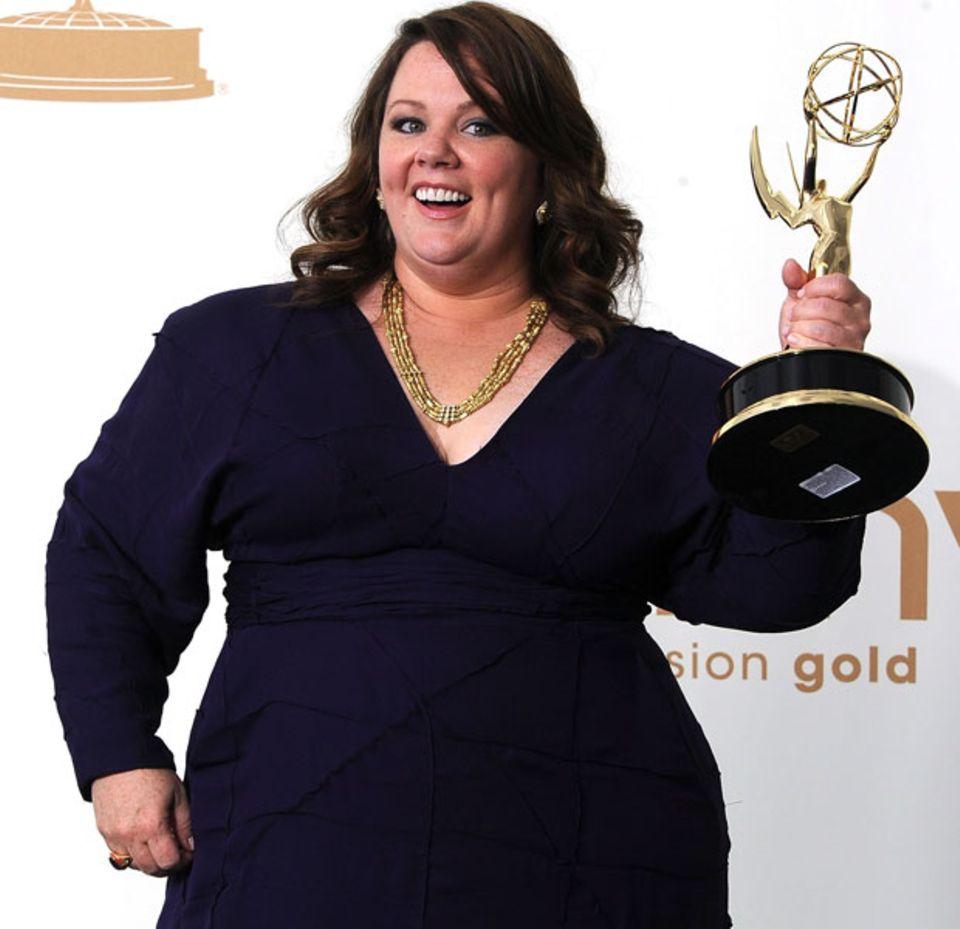 Melissa McCarthy 2011 bei den Emmy Awards