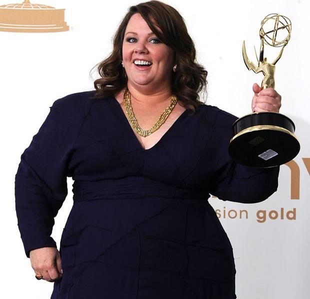 Kilos runter: Melissa McCarthy 2011 bei den Emmy Awards