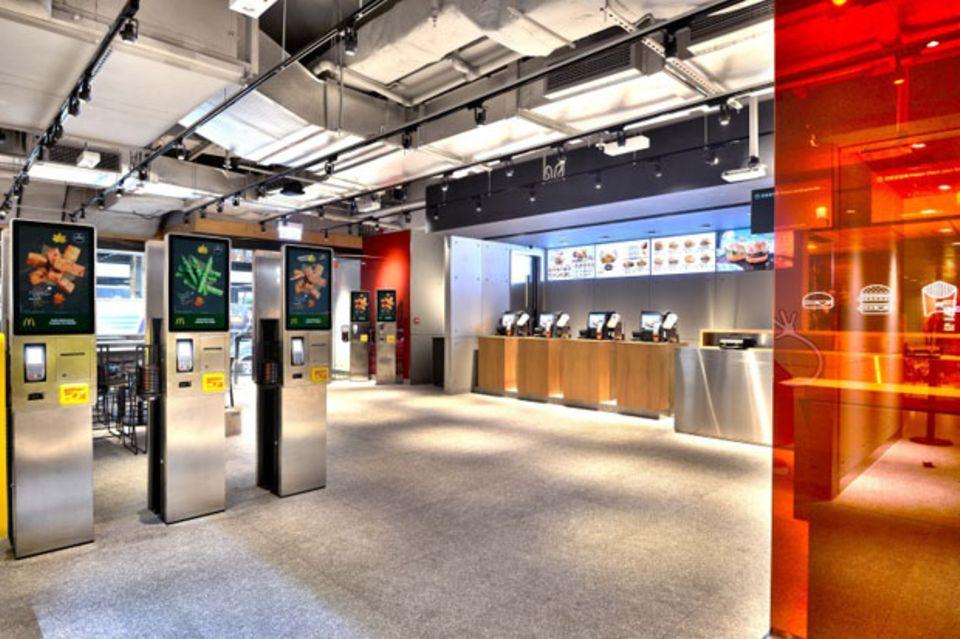 Sieht so die McDonald's-Filiale der Zukunft aus?