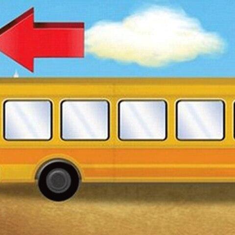 Kinder können dieses Bus-Rätsel sofort lösen - und ihr?