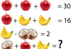 Kannst du dieses Frucht-Rätsel lösen?