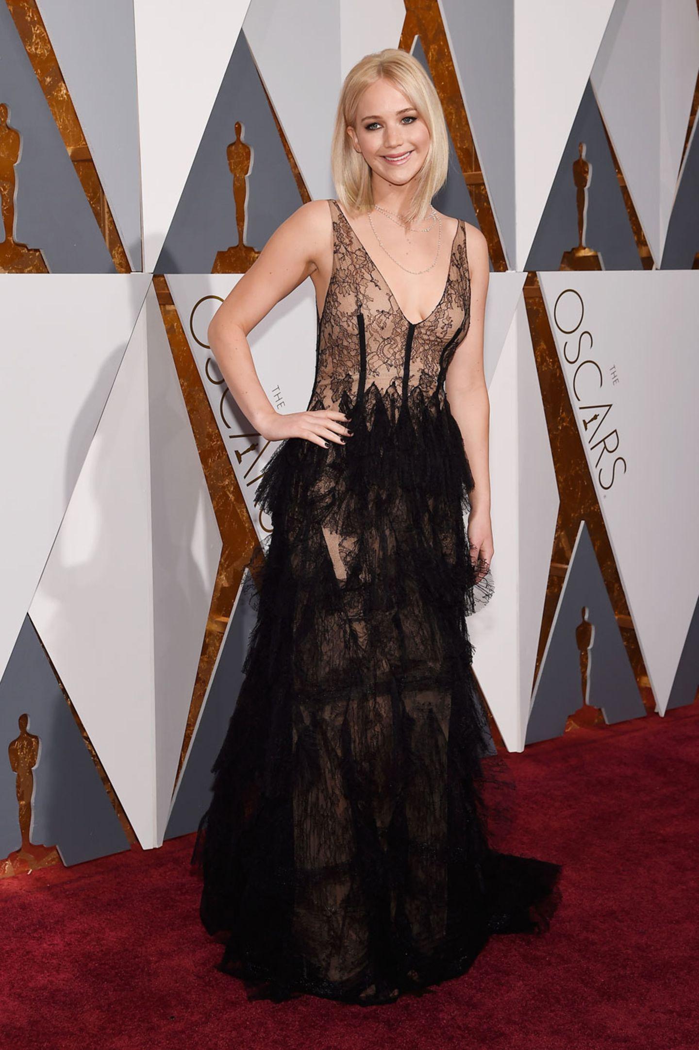 Oscars 2016: Jennifer Lawrence