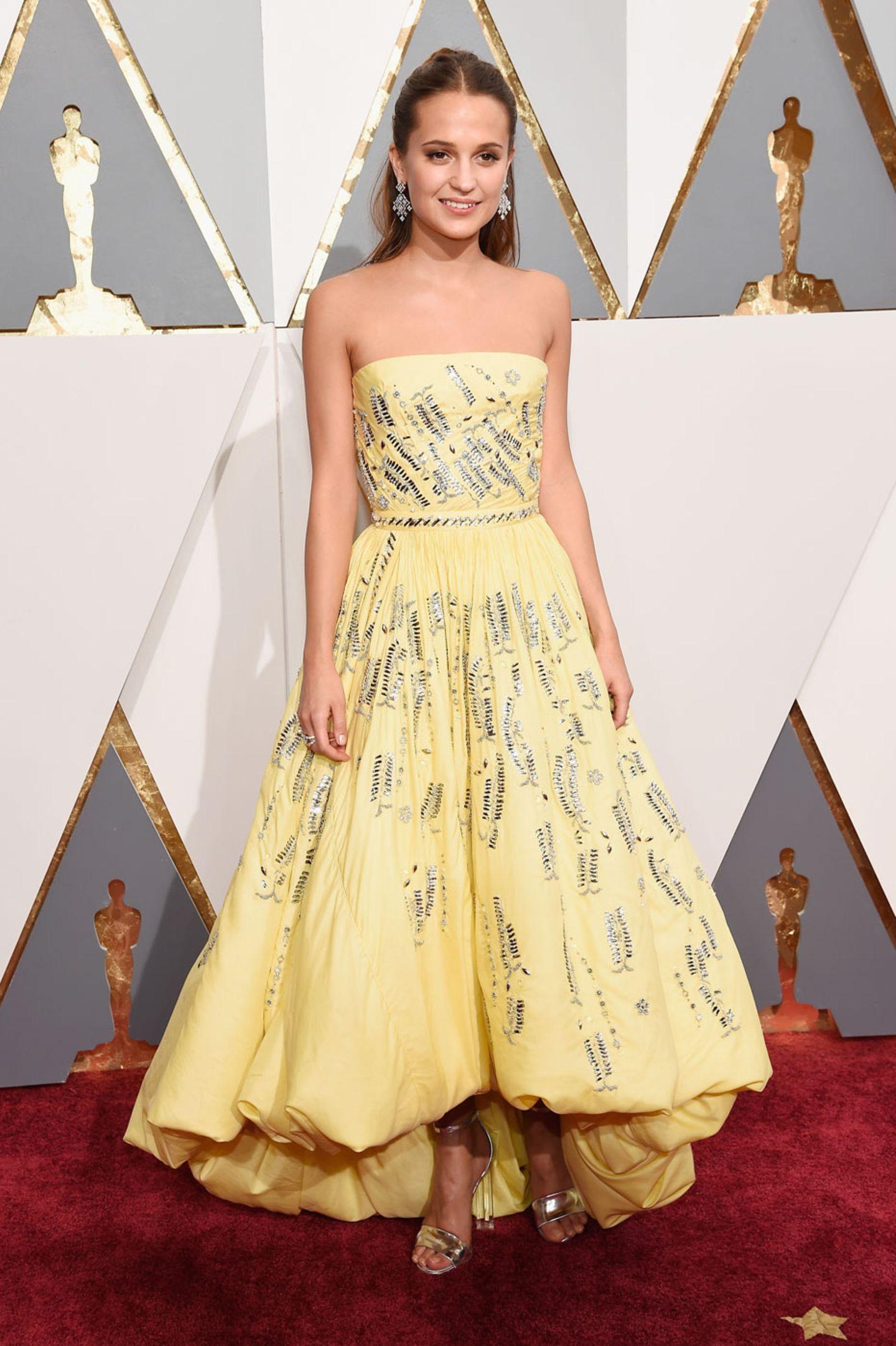 Oscars 2016: Alicia Vikander
