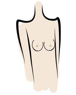 unterschiedliche brüste