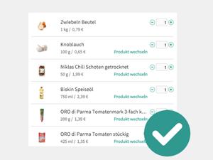 Lieferservice: Rezeptzutaten online bestellen - so einfach geht's!
