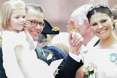 So heißt der kleine Kronprinz von Victoria und Daniel