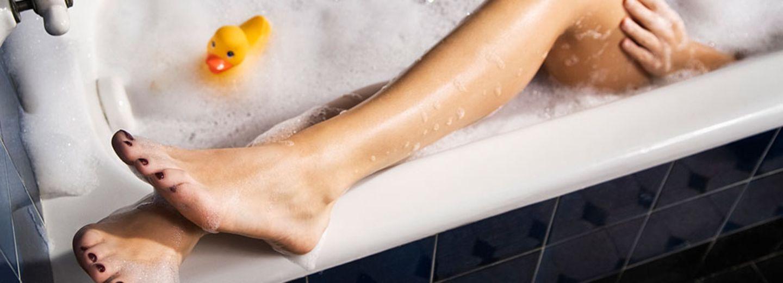 Kann man wirklich in der Badewanne abnehmen?