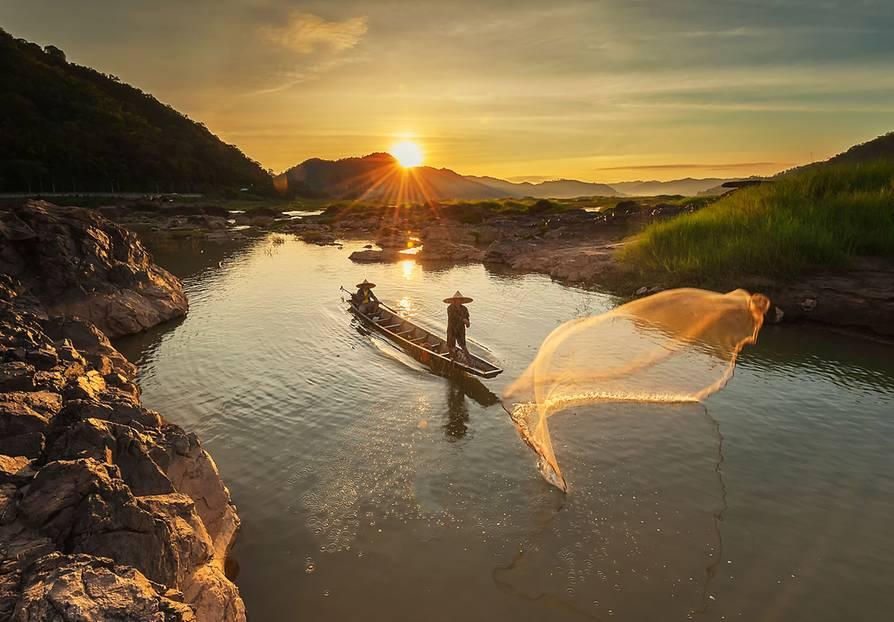Aktiv- und Abenteuerreisen: Platz 1 - Mythos Mekong