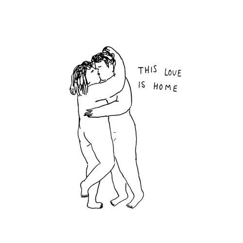 """Körpergefühl: """"Diese Liebe ist Zuhause"""" Einen Partner zu haben, der uns so liebt wie wir sind, ist ein großes Geschenk!"""