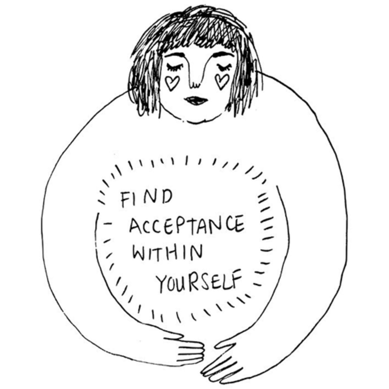 """""""Akzeptiere dich selbst."""" Das ist der Grundstein für ein positives Selbstbild."""