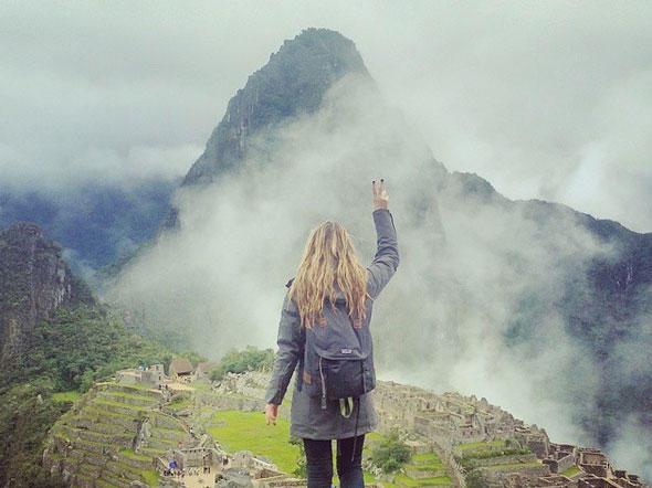 Nach Krebsdiagnose: Megan besucht die 7 Weltwunder