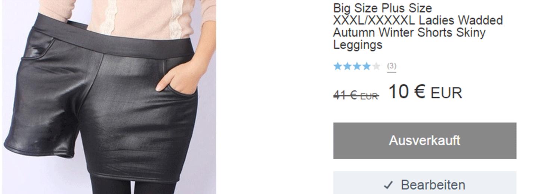 Riesen-Wirbel: So wird im Internet Plus-Size-Mode verkauft!