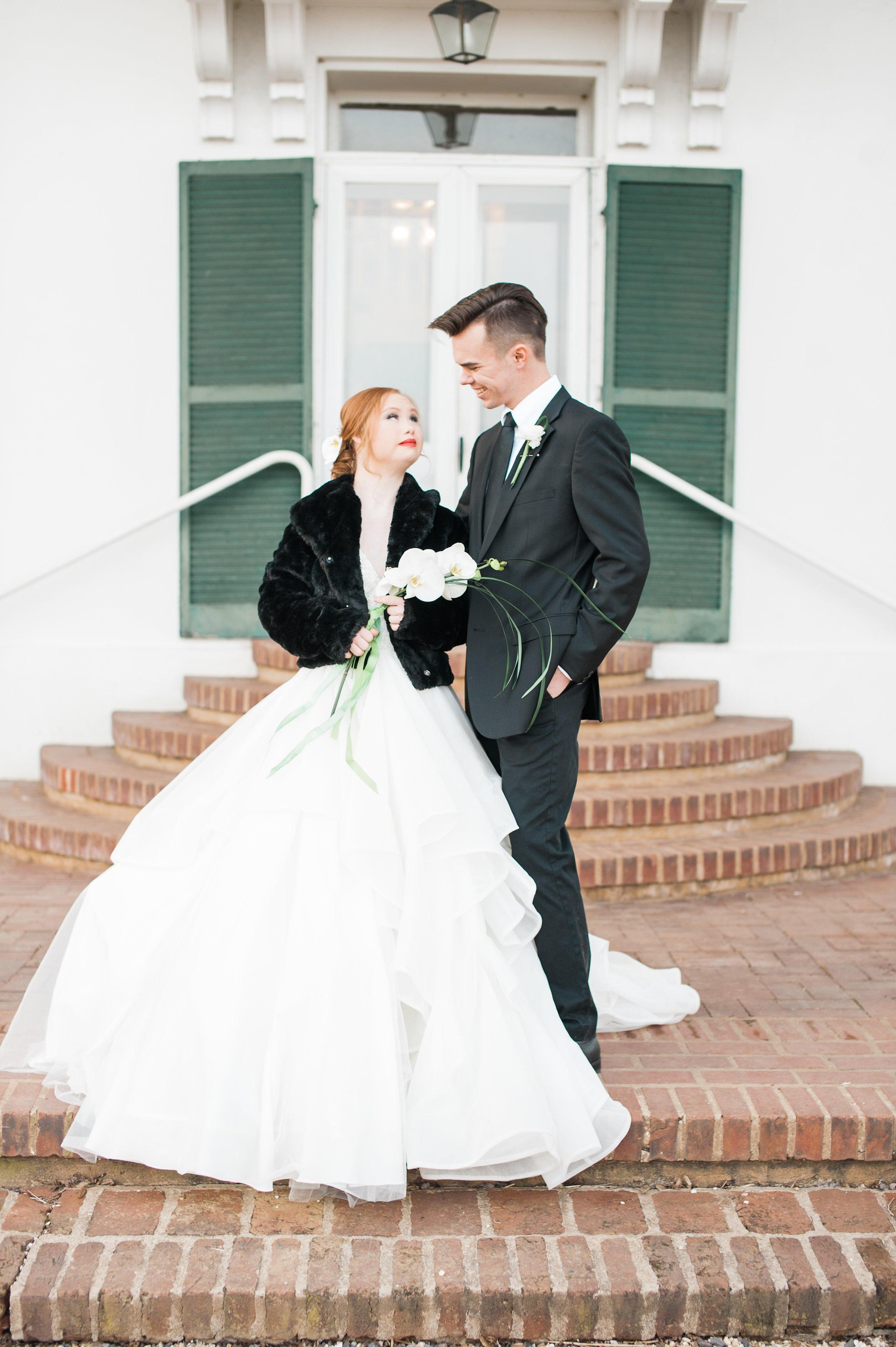 Die Braut ist begeistert