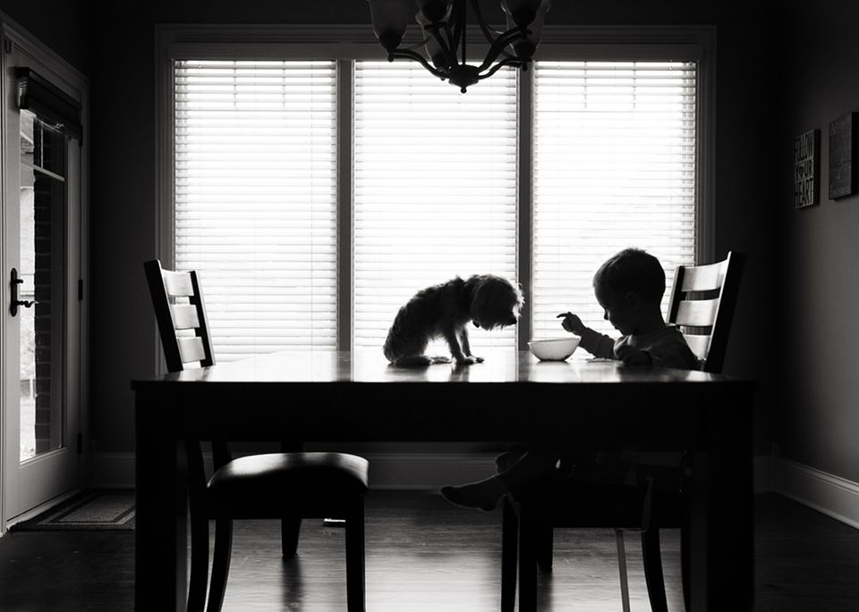 Schwarz-Weiß-Fotografie: Die schönsten Kinder-Bilder 2015