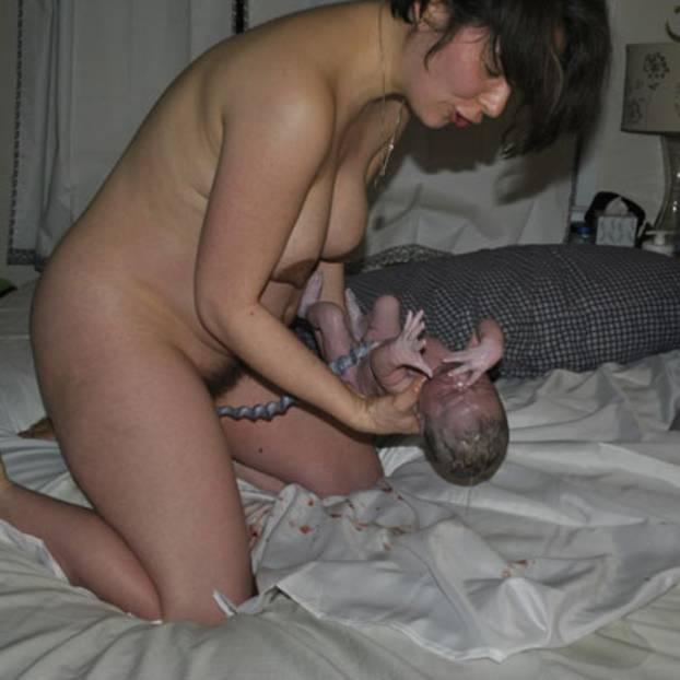 Nackt mit der familie