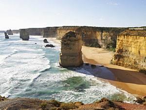 Schroffe Küsten, lange Strände: Von Melbourne über die Great Ocean Road