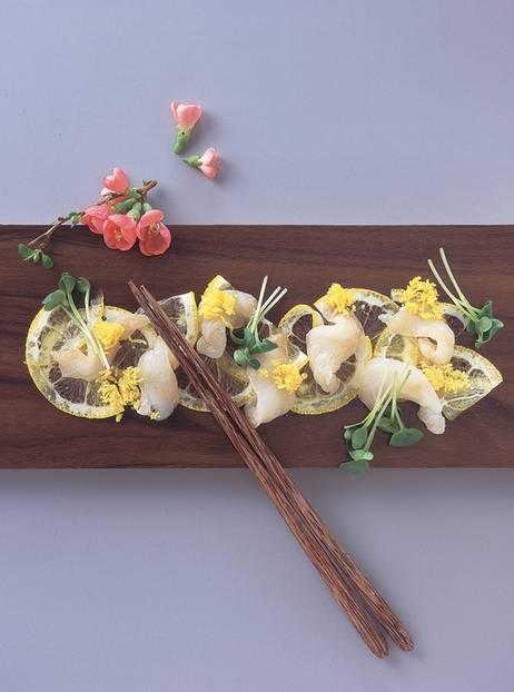 Seezunge auf Zitrone mit Eigelb